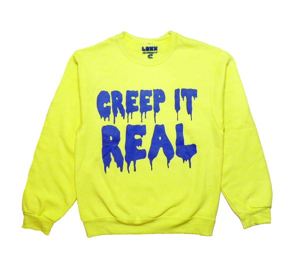 "Nylon Mag ""Creep It Real"" Sweatshirt"