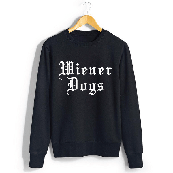 Nylon Mag Wiener Dogs Sweater