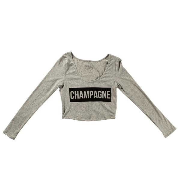 "Nylon Mag ""Champagne"" long sleeve"