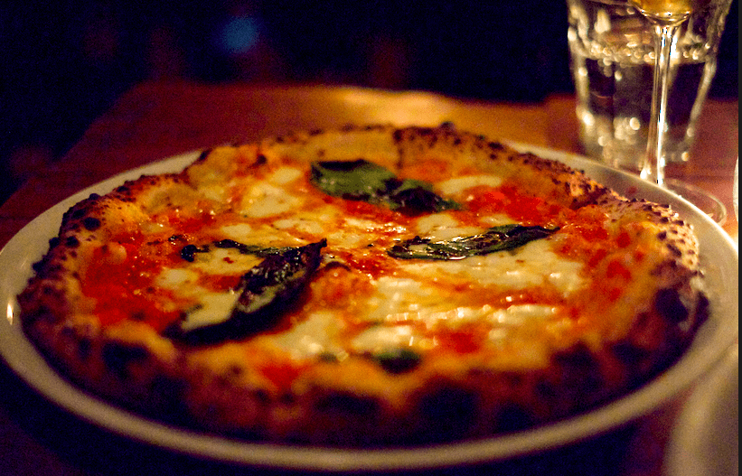 Margarita Pizza from Sotto
