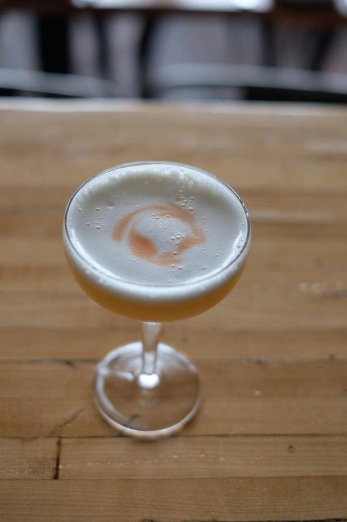 Whiskey Sour at The Thomas
