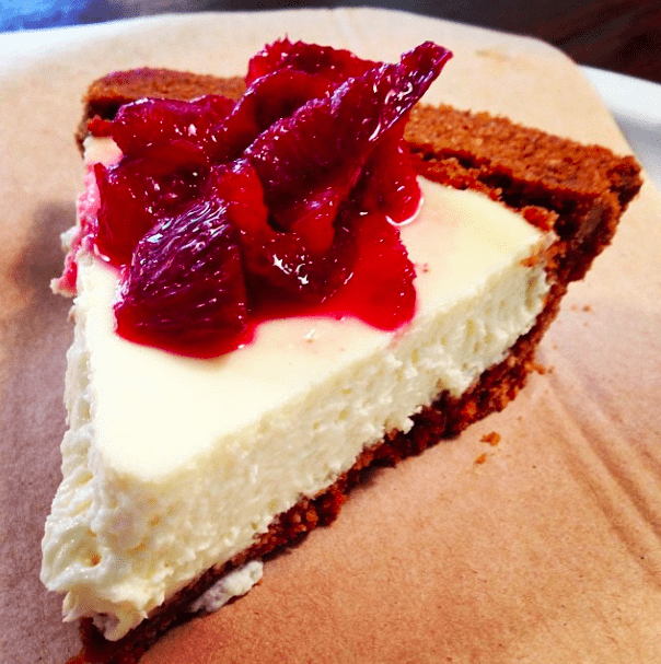 """My Bloody Valentine"" Cheesecake from Pie Hole LA"