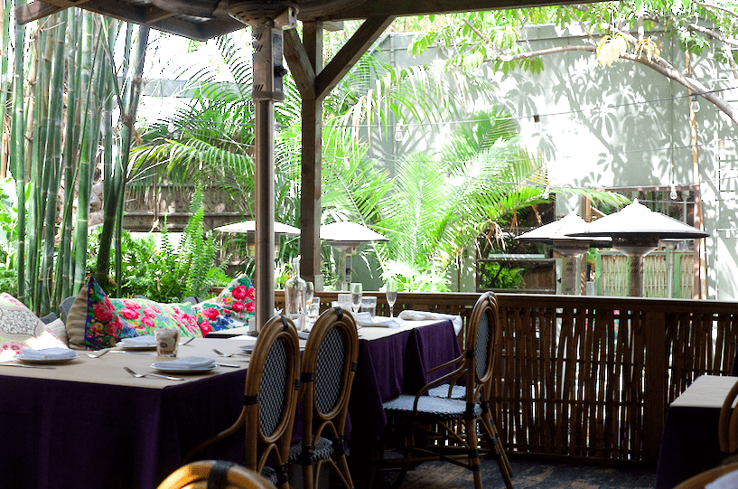 Patio at Cliffs Edge In Silver Lake