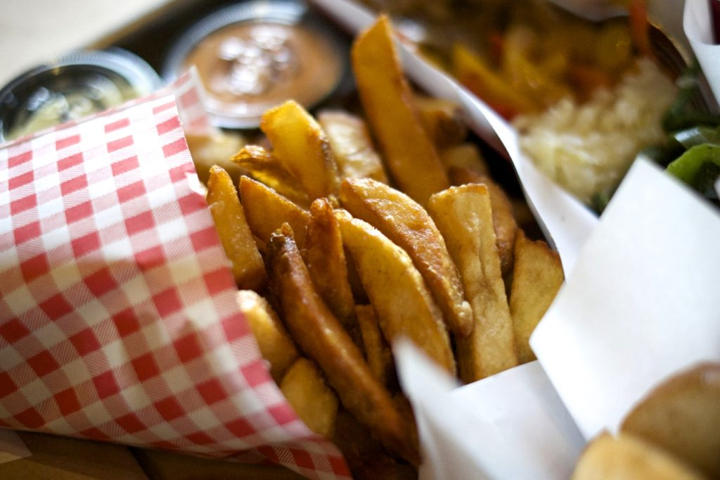 Love & Loathing LA: Wurstkuche Fries