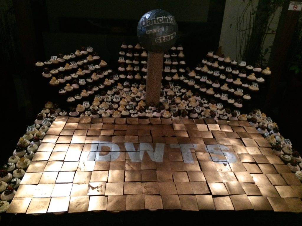 Cupcakes and Chocolate Dancefloor at DWTS Season 18 Wrap Party