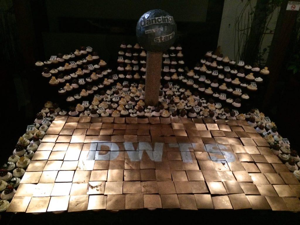 Cupcakes and Chocolate Dancefloor at DWTS Season 18 Wrap Party