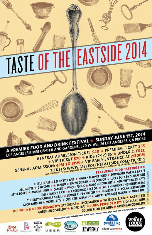 Taste of the Eastside 2014 Flyer
