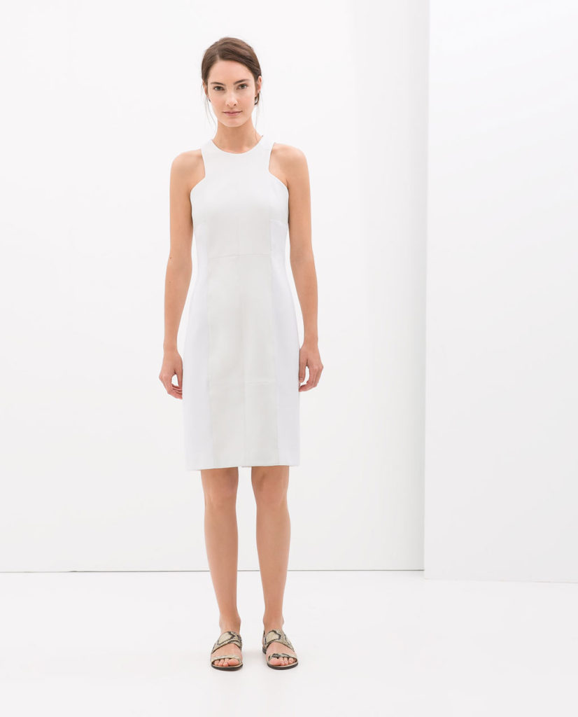 Zara Combined Shift Dress $49.99