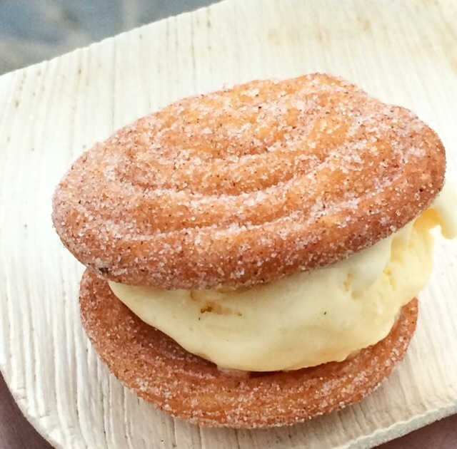 Churro Borough Ice Cream Sandwich