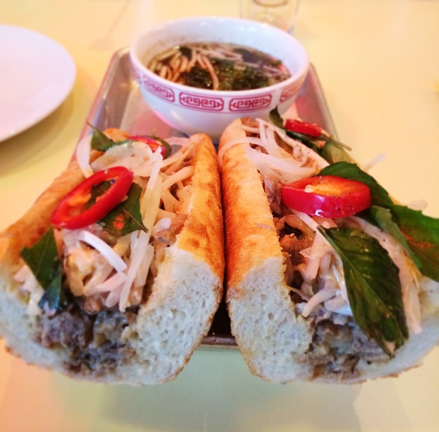 East Borough Culver City Pho Baguette
