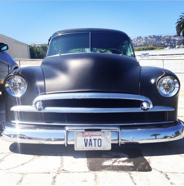 "Only In LA ""Vato"" plate"
