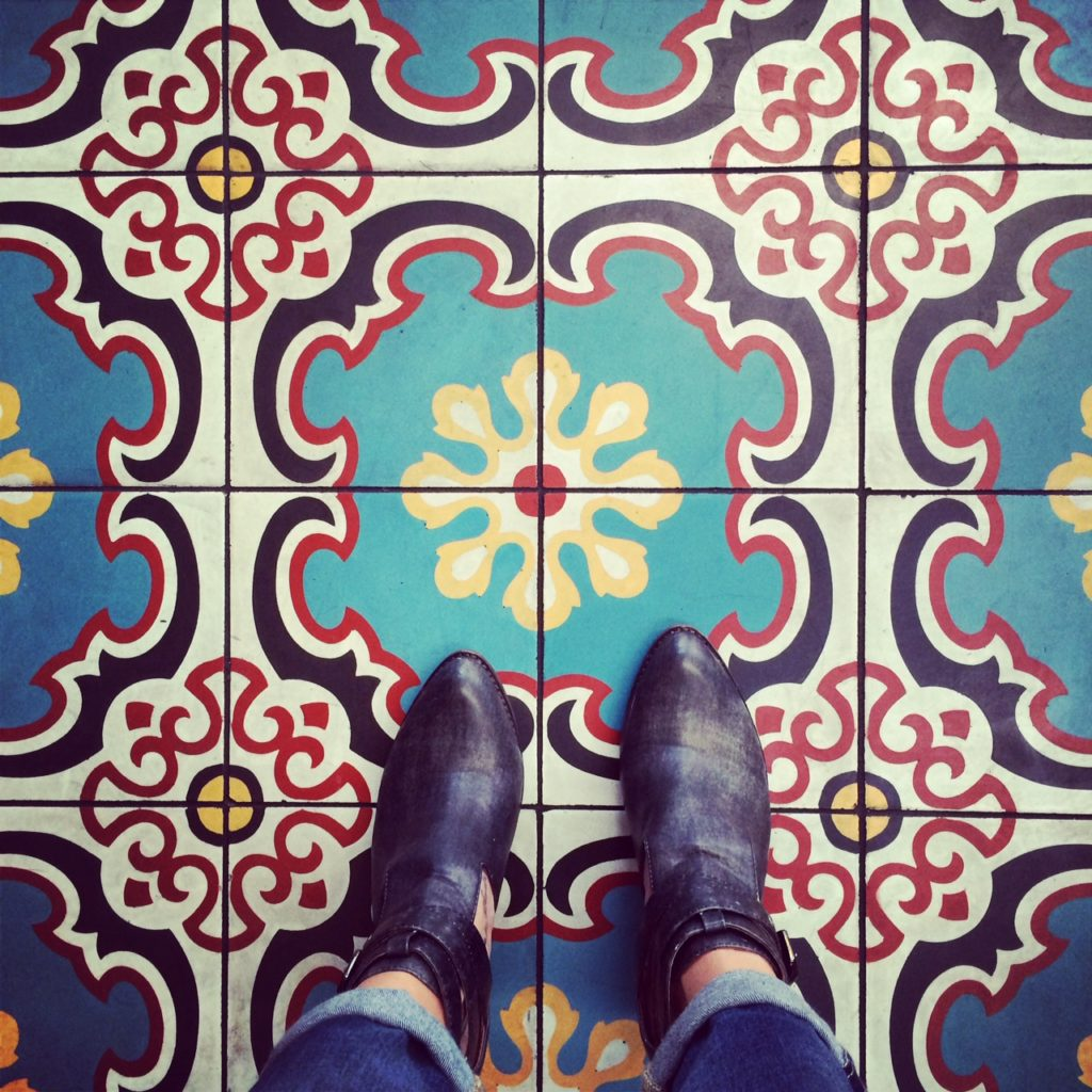 East Borough Culver City Tiled Floor
