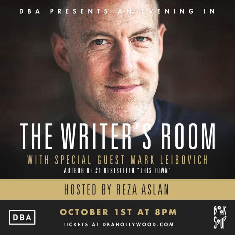 DBA Writers Room Flyer