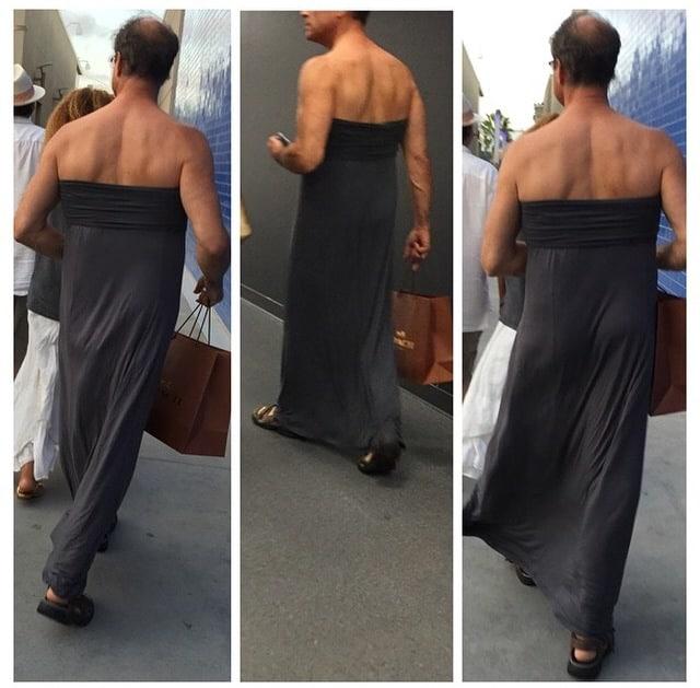 Only In LA: Real Men Wear Maxi Dresses