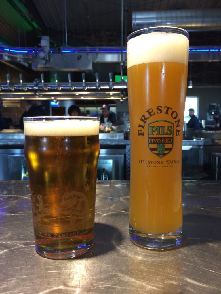 Firestone Brewery Beers