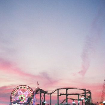 The Good Ol' Santa Monica Pier at Sunset