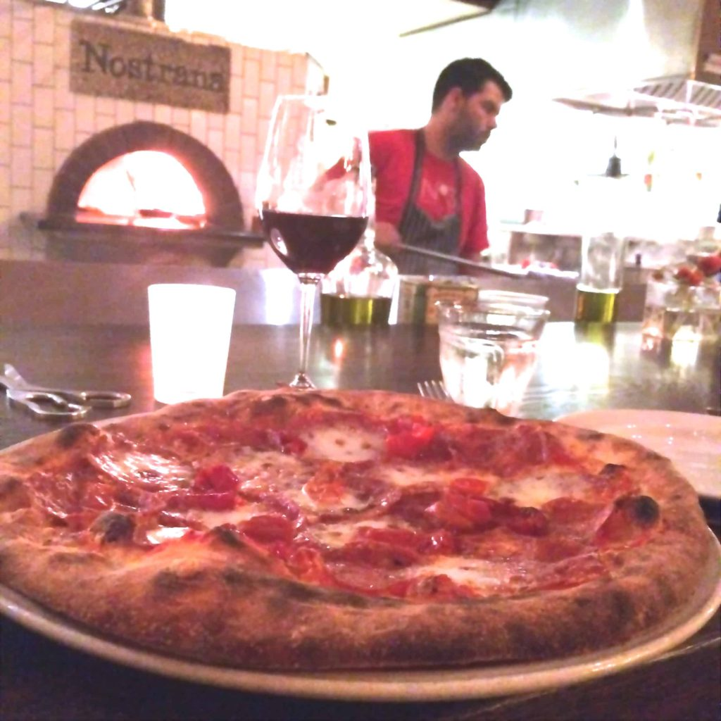 Salumi Pizza at Nostrana