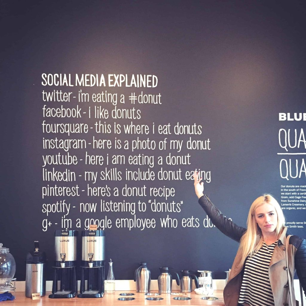 Blue Star Donuts Social Media Explained