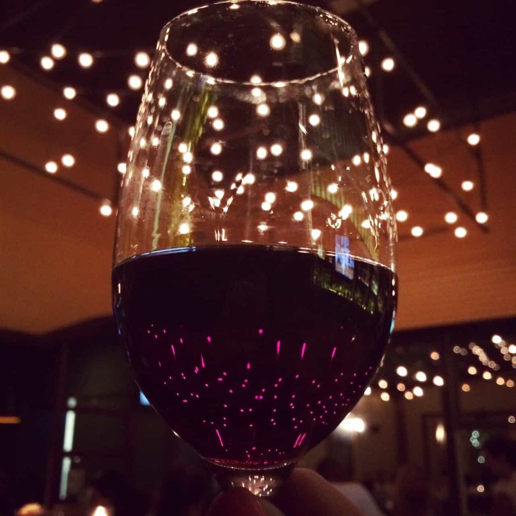 Love & Loathing LA: Glass of Red Wine