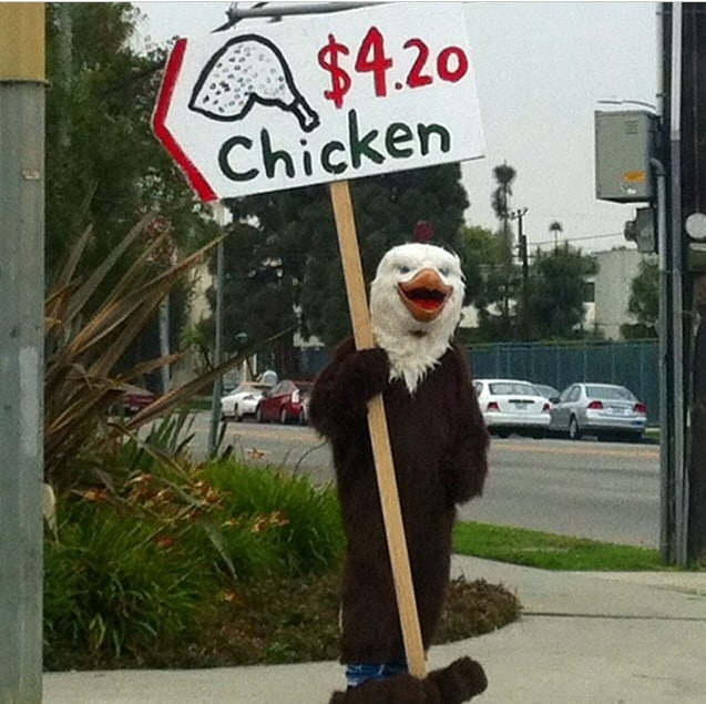 Only In LA: Chicken