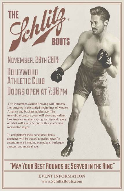 The Schlitz Bouts 2014