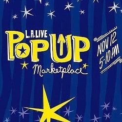 LA LIVE popup Marketplace