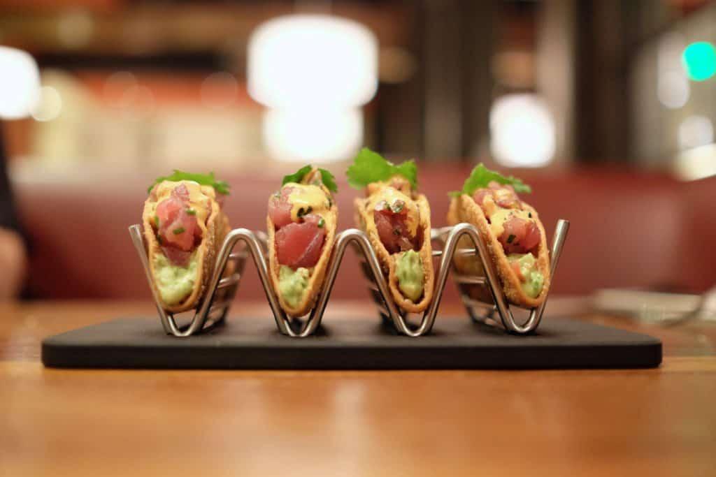 Del Frisco's Grille: Ahi Tacos - loveandloathingla.com