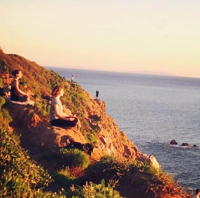 FullSizeRender Only In LA: January 2015 Cliff Yoga