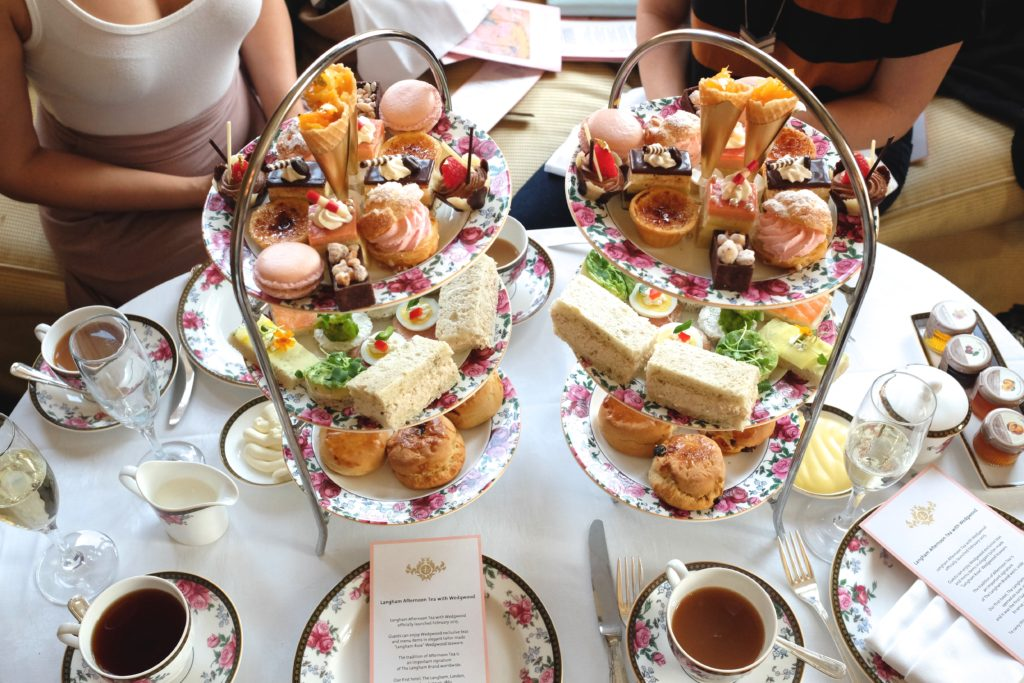 Langham Hotel London High Tea