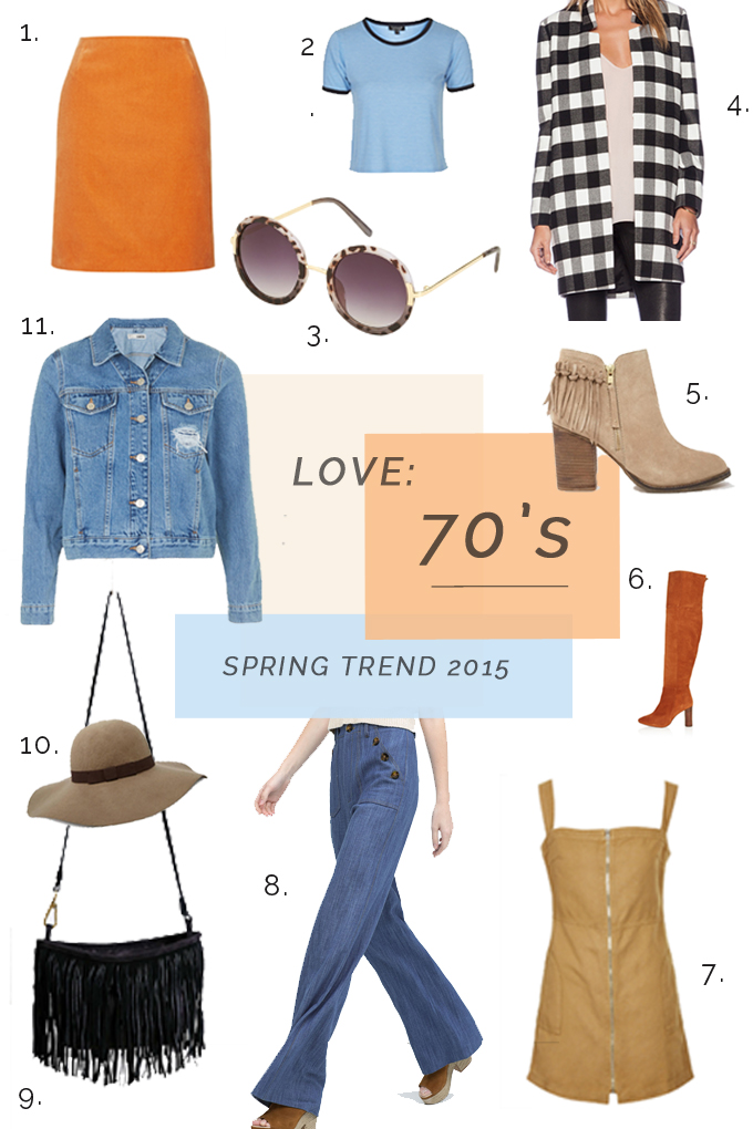 Spring Trend In LA | Back to the 70's.