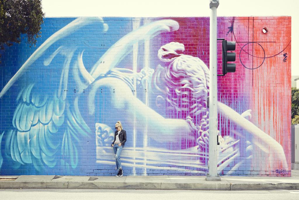Love & Loathing LA: RISK Mural in Santa MonicaLove & Loathing LA: RISK Mural in Santa Monica
