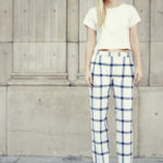 Trends For Spring In LA | All White + Checked Wide Leg Trousers