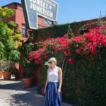Blue Culottes + Sunset Junction