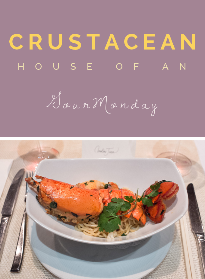 GourMonday At Crustacean BH