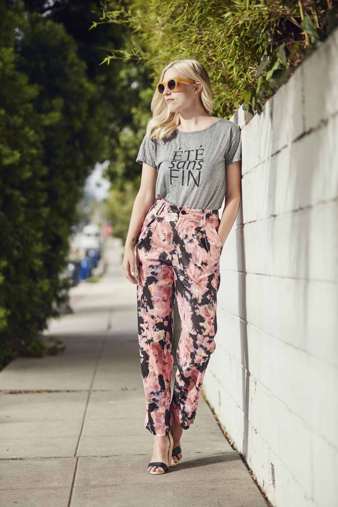 How To Rock Floral Print Trousers For Summer
