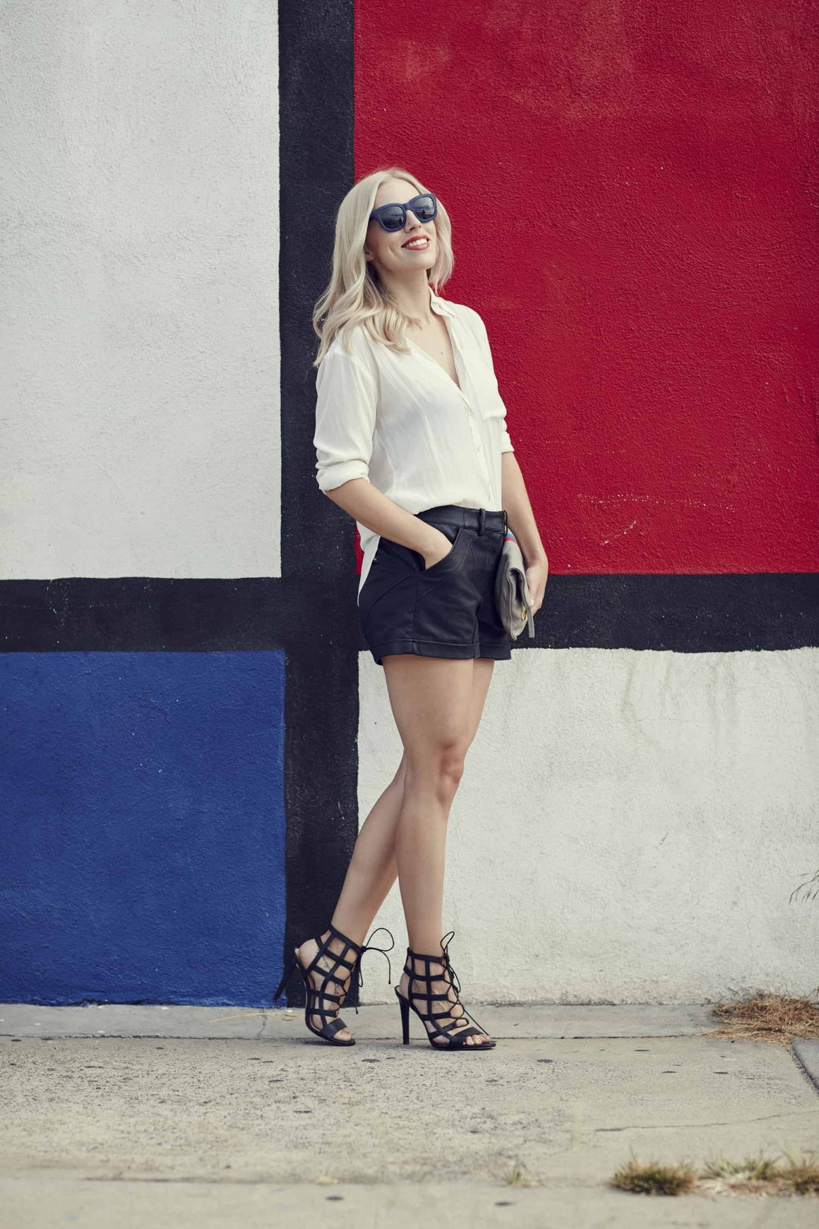 Salute Your Leather Shorts