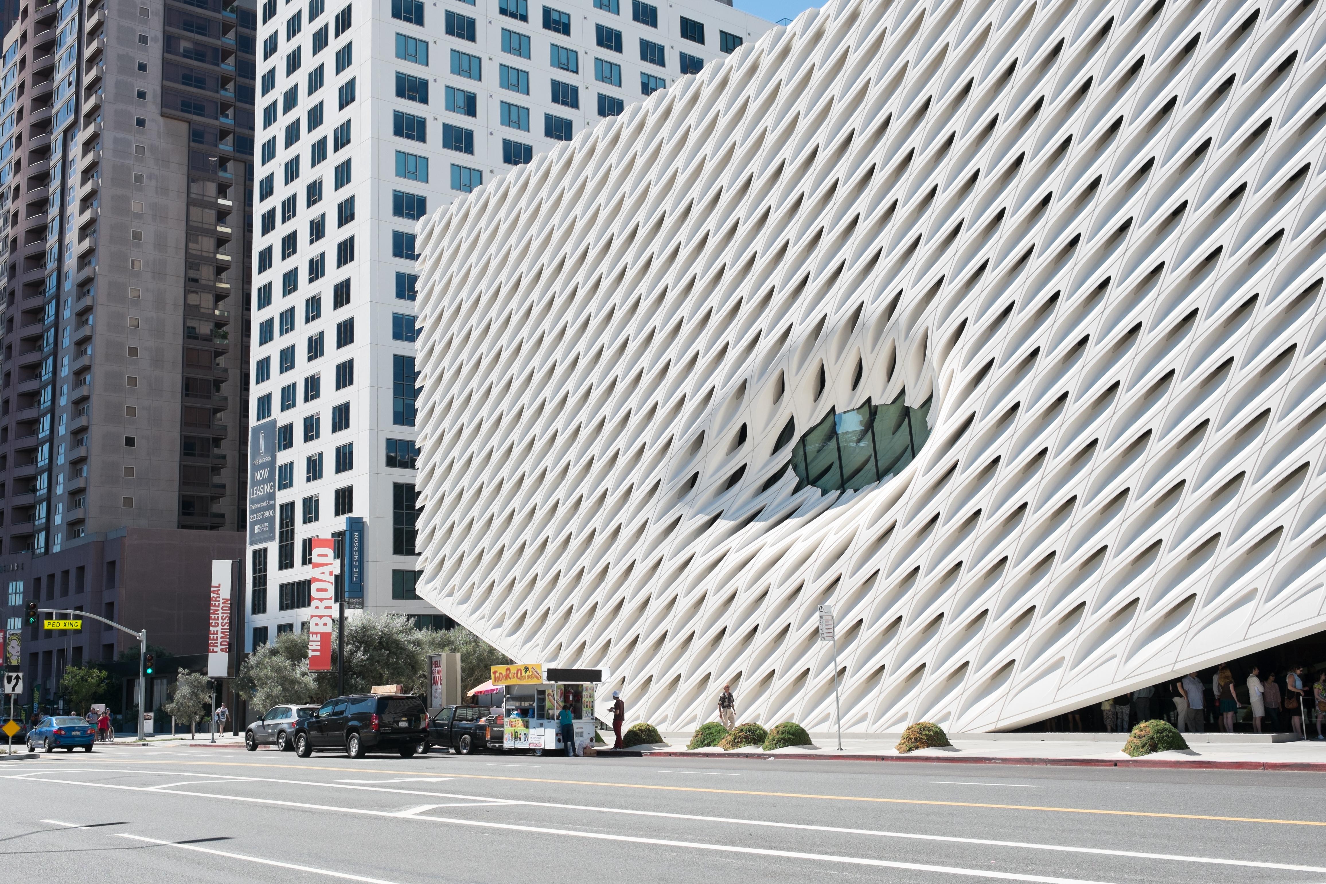 Il Museo Broad la vela e la volta di Los Angeles