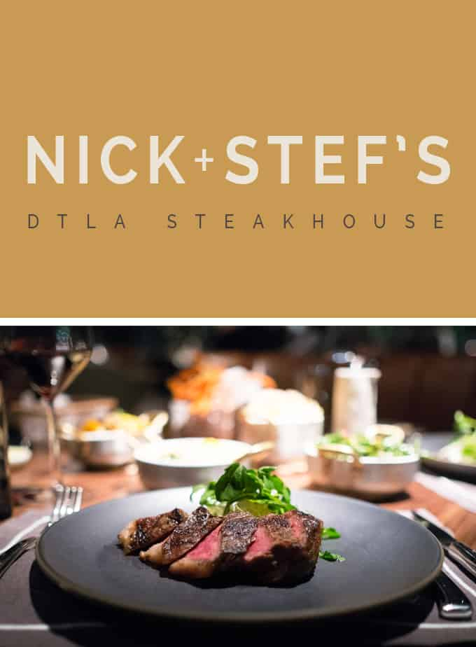 Nick + Stef's Steakhouse | WELCOME BACK!