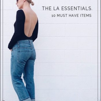 10 LA 'IT GIRL' ITEMS