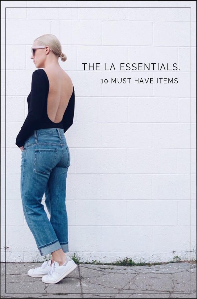 10 LA 'IT GIRL' ITEMS