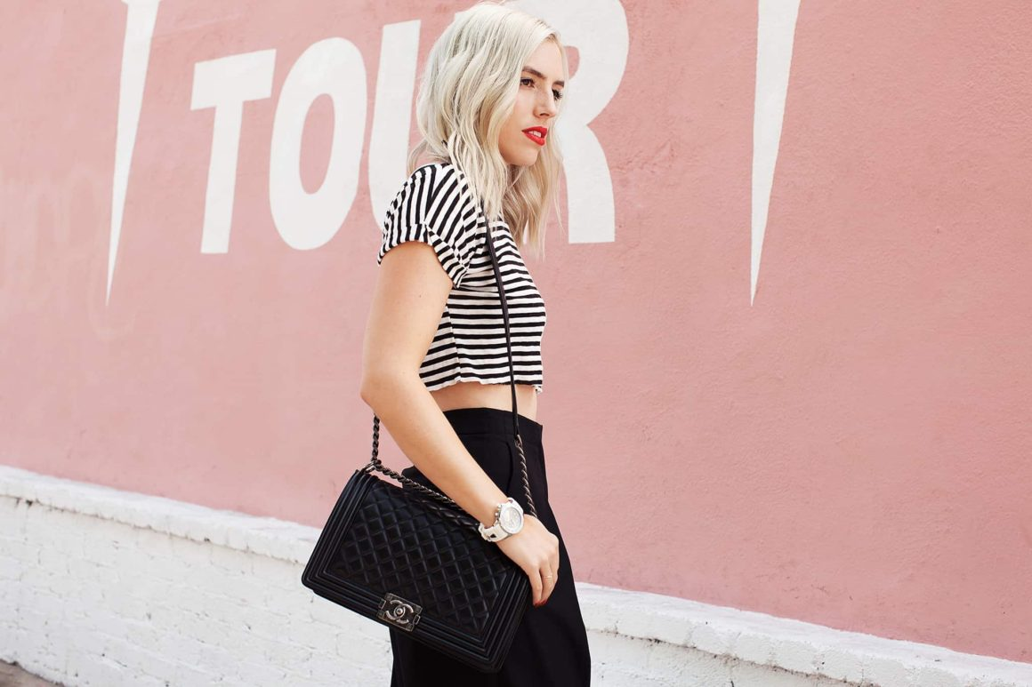 STRIPES + SILVER ACCENTS