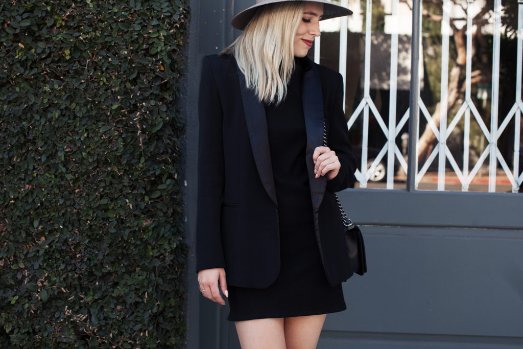 Love and Loathing LA Tuxedo Blazer