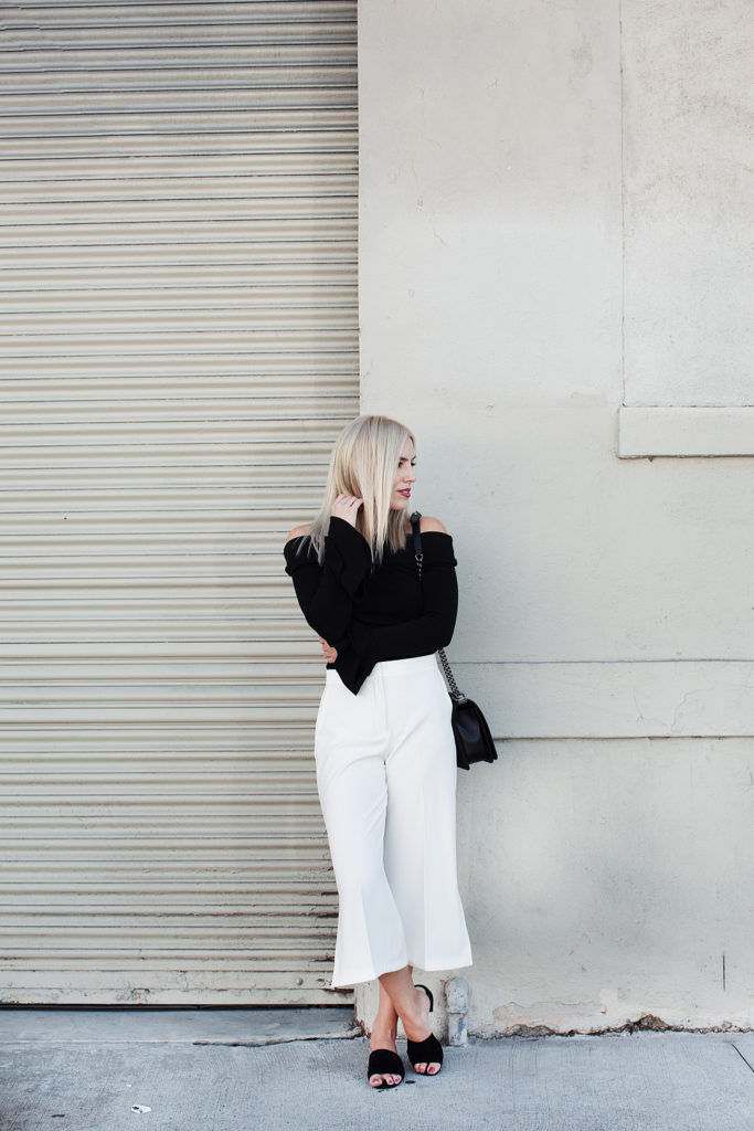 Love and Loathing LA White Culottes
