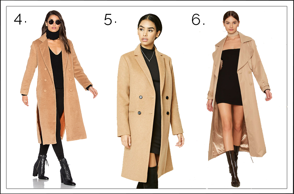 Love and Loathing LA Camel Coats