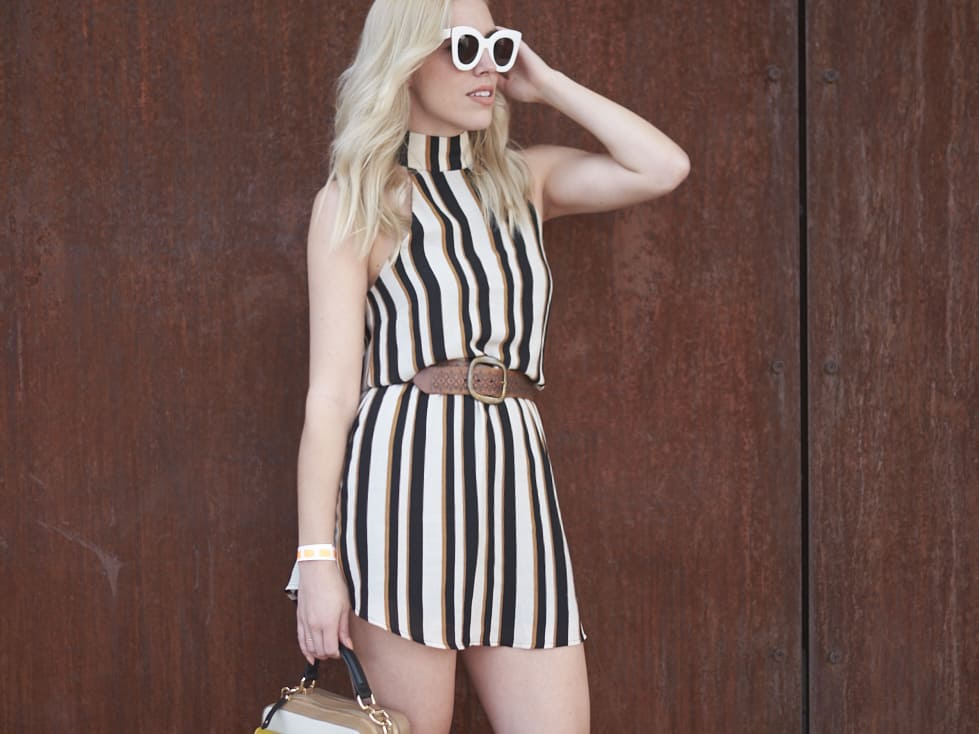 THE SEASON OF STRIPED DRESSES