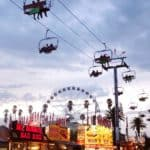 NIGHT OUT AT THE LA COUNTY FAIR