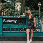 CAROLINE IN THE CITY – IN A LPDD (LITTLE POLKA DOT DRESS)