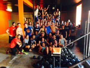 Brick Crossfit Class West Hollywood (photo via @brickcrossfit on Twitter)