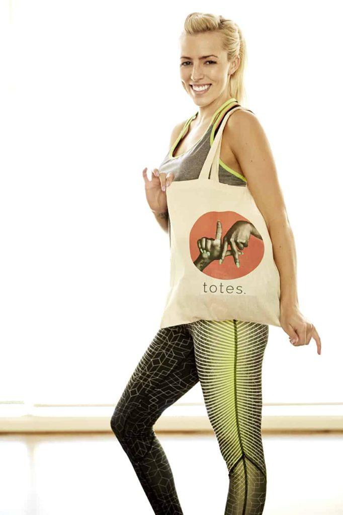 L&L LA Gym Sesh Shoot Champion for Target Shirt and Nike Pants/Shoes, L&L Tote 4