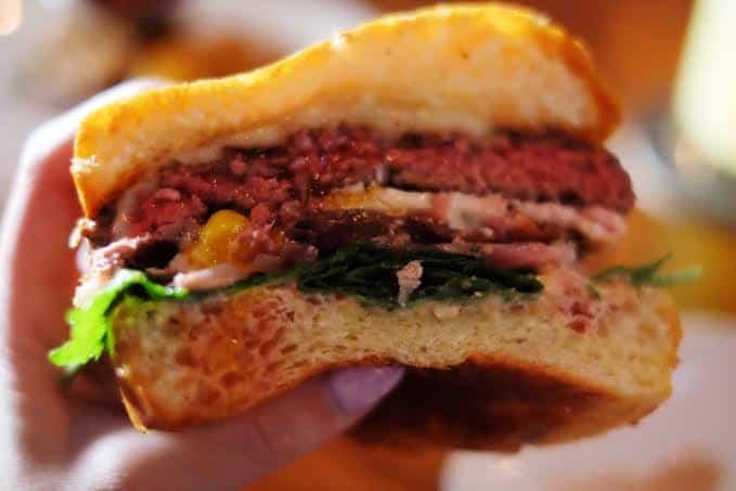 The Good Morning Burger at The York